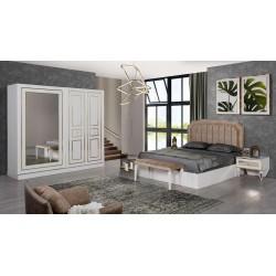 Eliz Beyaz Yatak Odası